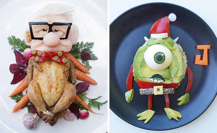 To Make My Son Eat Healthy Food, I Turn It Into His Favorite Cartoons (Part 3)