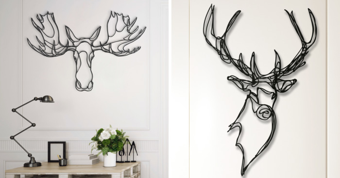 6bcffa89f These Animal Signs Start Life As Simple One-Line Drawings. Product Design