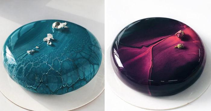 I Make Mirror Glazed Mousse Cakes Bored Panda