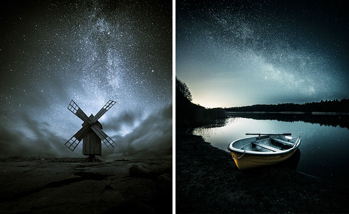 Starry Finnish Nights That I've Been Capturing For The Past Two Years