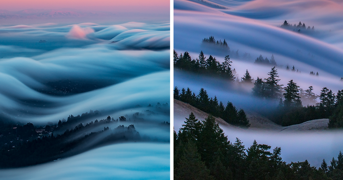 Fog Waves Are The Most Beautiful Thing I Captured After 8 Years Of Experimenting