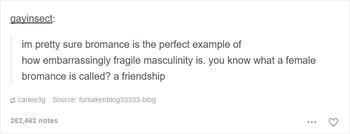 Fragile Masculinity