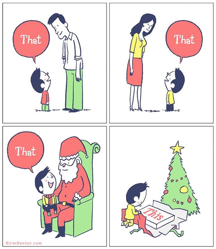 Christmas Comics.125 Of The Funniest Christmas Comics Ever Bored Panda