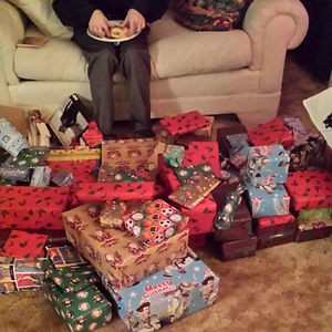 My Bro Told My Grandma, Jokingly, He Wanted 100 Things From The Dollar Store For Christmas, Grandma Doesnt Like Being Challenged
