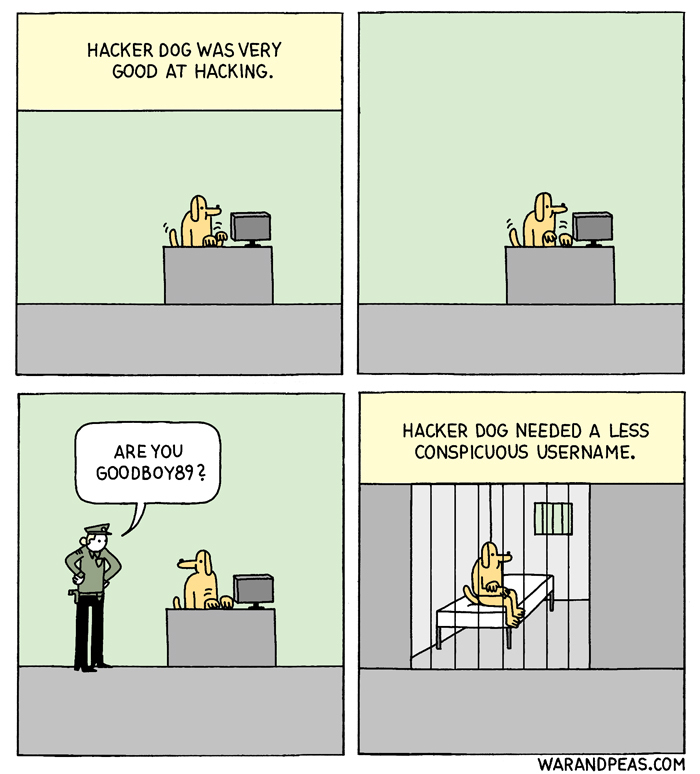 Hacker Dog