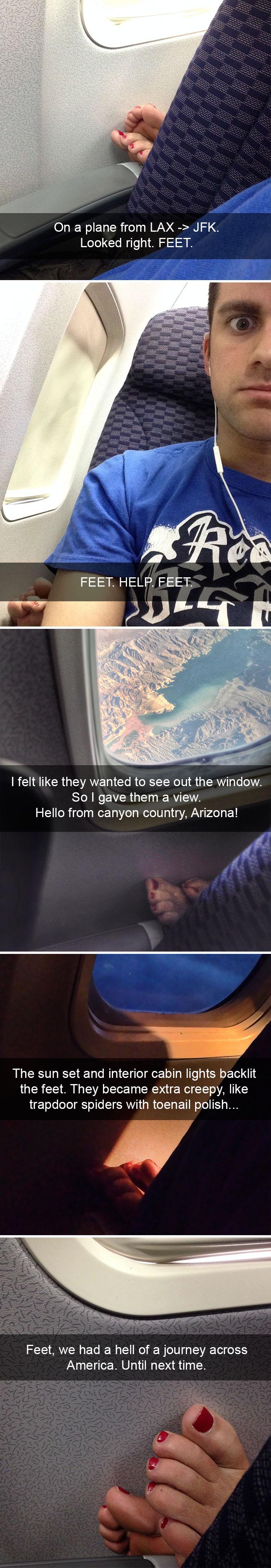 Funny Flight Post