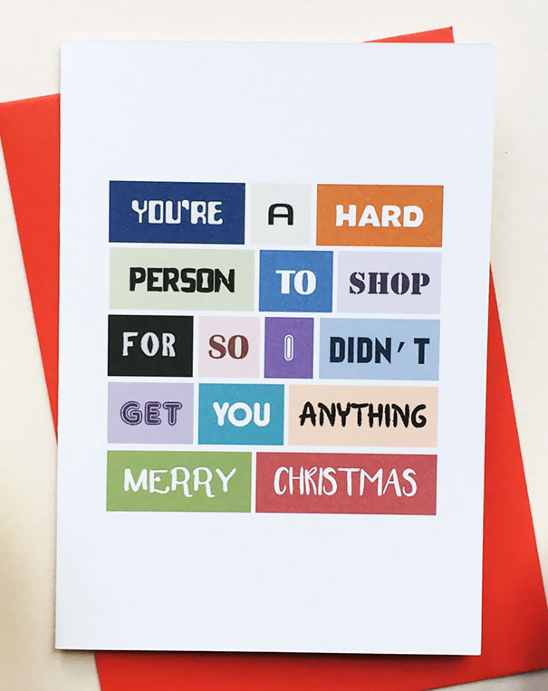 Inappropriate Funny Christmas Card