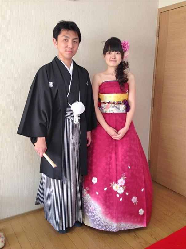 Kimonos Wedding Dress