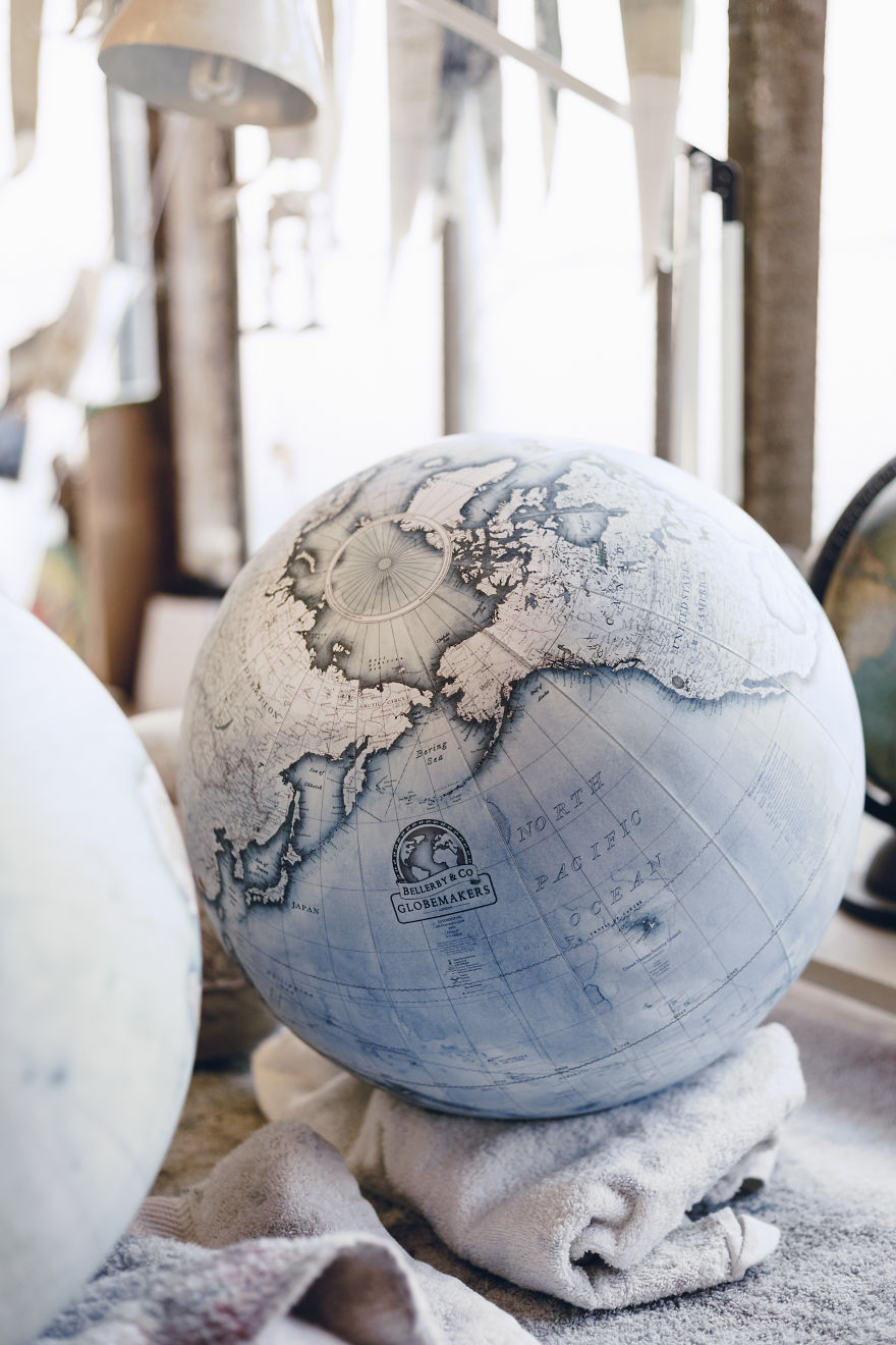 We Hand-Craft World Globes The Same Way They Were Made Hundreds Of Years Ago