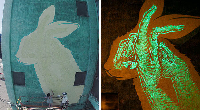 Glow-In-The-Dark Murals That Will Surprise You At Night