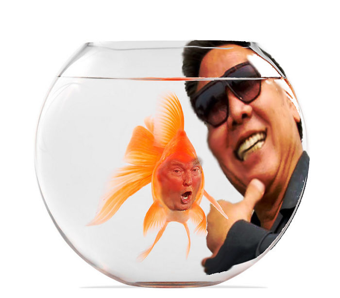 Trump In The Fishbowl Feeling Kind Of Il