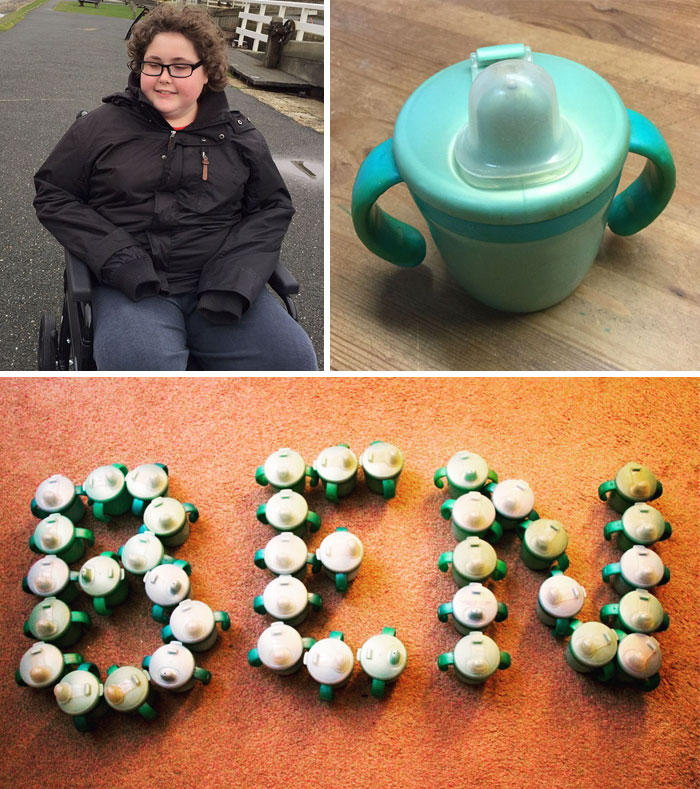 14 Y/O Autistic Boy Could Only Drink From His Favorite Cup That Was Discontinued, So This Company Made 500 New Cups For Him