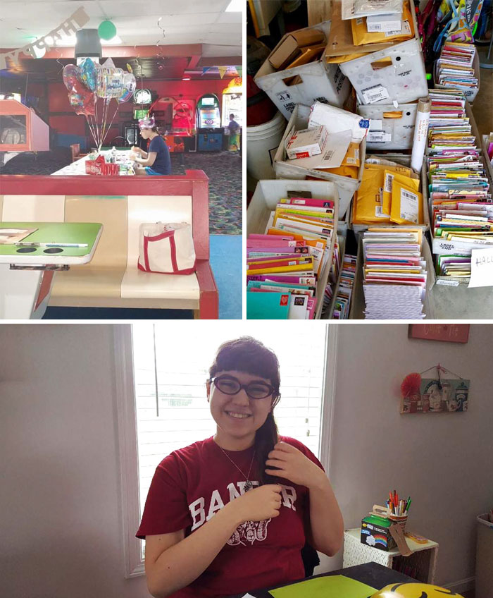 A Girl Who Has Autism Spent Her 18th Birthday Alone When Her Classmates Failed To Show Up For Her Party. But For Her 19th Birthday She Received 10,000 Cards And Presents Including Gifts From Soldiers In Afghanistan, A Message From The Entire State Of Ohio, And A Doll From NASA