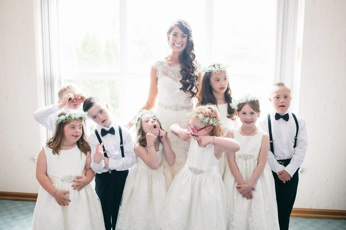 Special Ed Teacher Invites Entire Class To Her Wedding