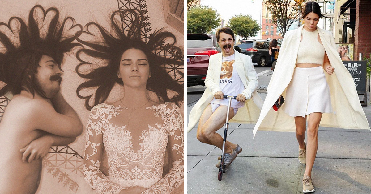 Man Photoshops Himself Into Pictures Of Kendall Jenner, Makes Them 10 Times Better (NSFW)