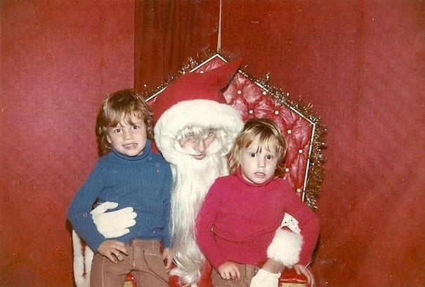 Hippy Santa Needs To Cut His Hair