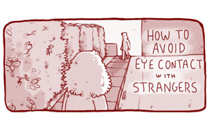 4 Ways How To Avoid Eye Contact With Strangers