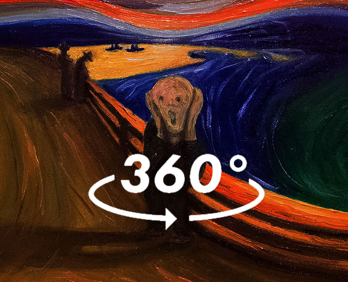 See The Real Reason Behind Munch's Scream In My 360 Video