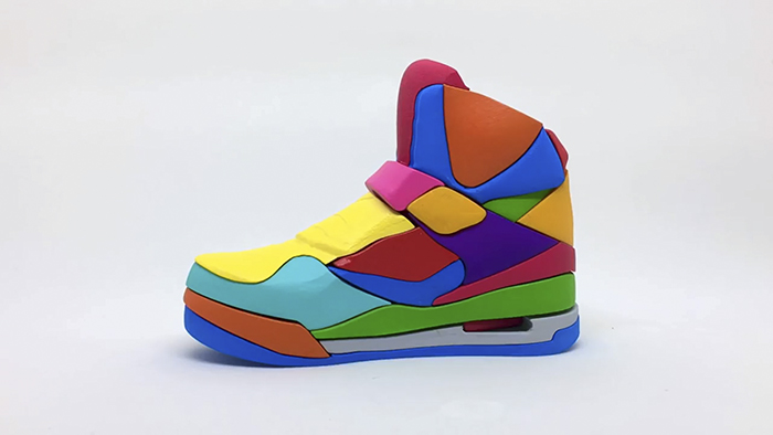 I Made A Colorful 3D Puzzle Of NIKE Air Jordan Sneaker