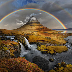 Rainbow Over Kirkufell