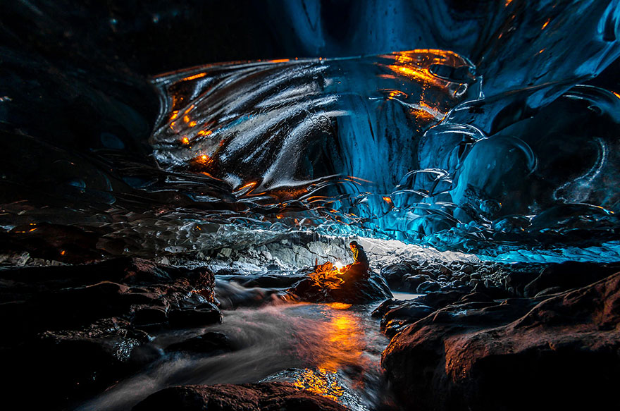 Ice Cave In Vatnajokull
