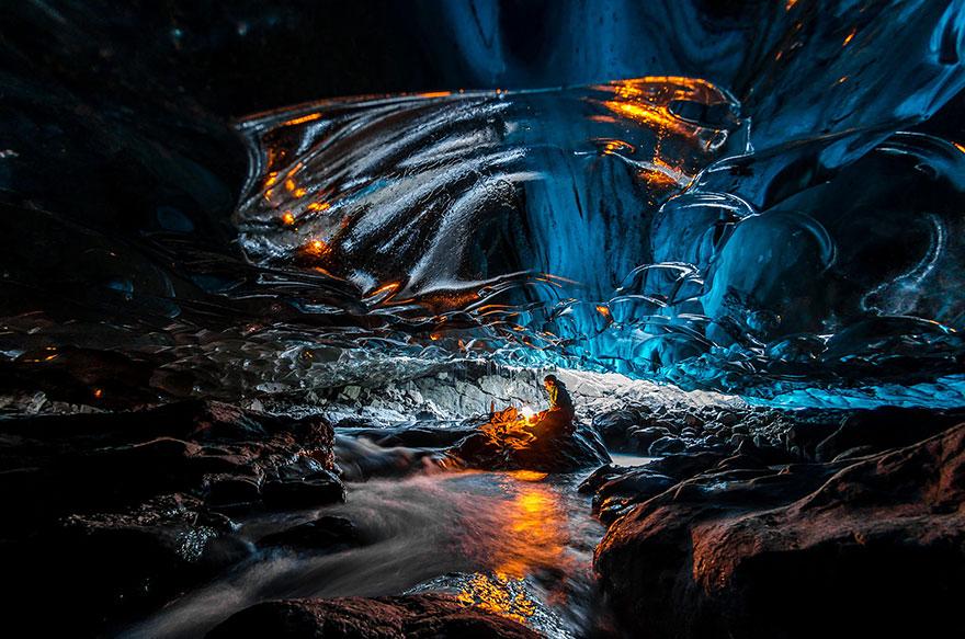 Ice Cave In Vatnajokull