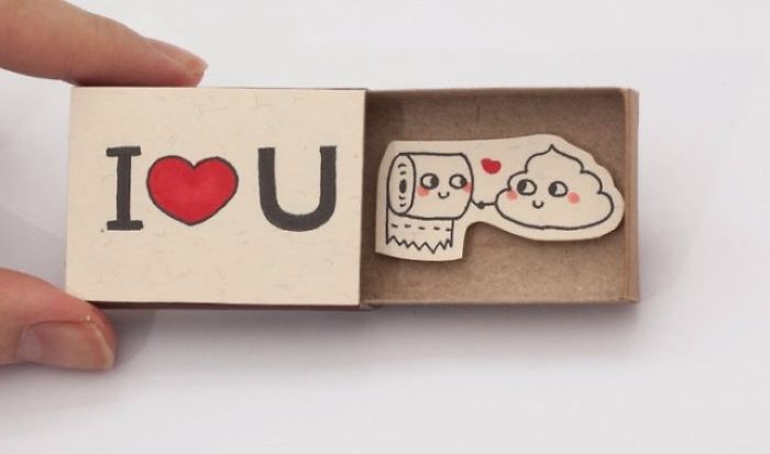 And Artist Creates Hidden Messages In Mach Boxes…cute