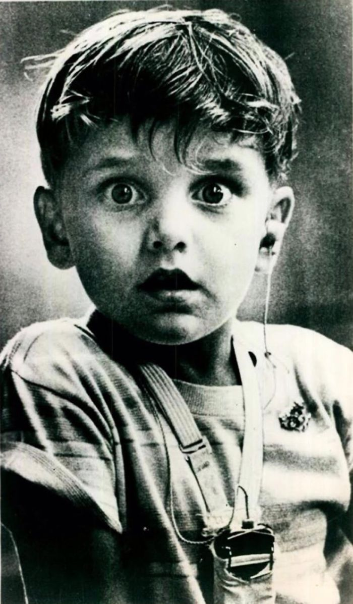 Harold Whittles Hearing Sound For The First Time, 1974
