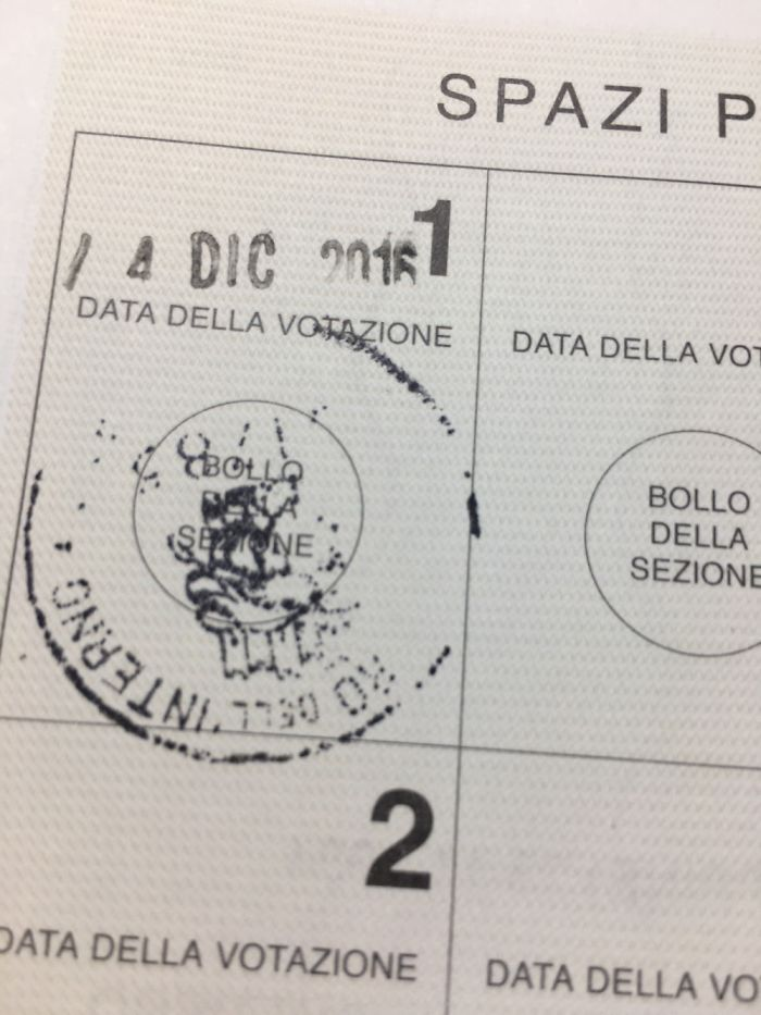 My First Vote Ever As An Italian Citizen