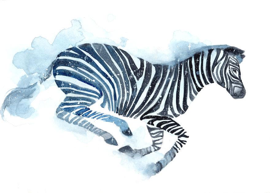 Galaxy Zebra