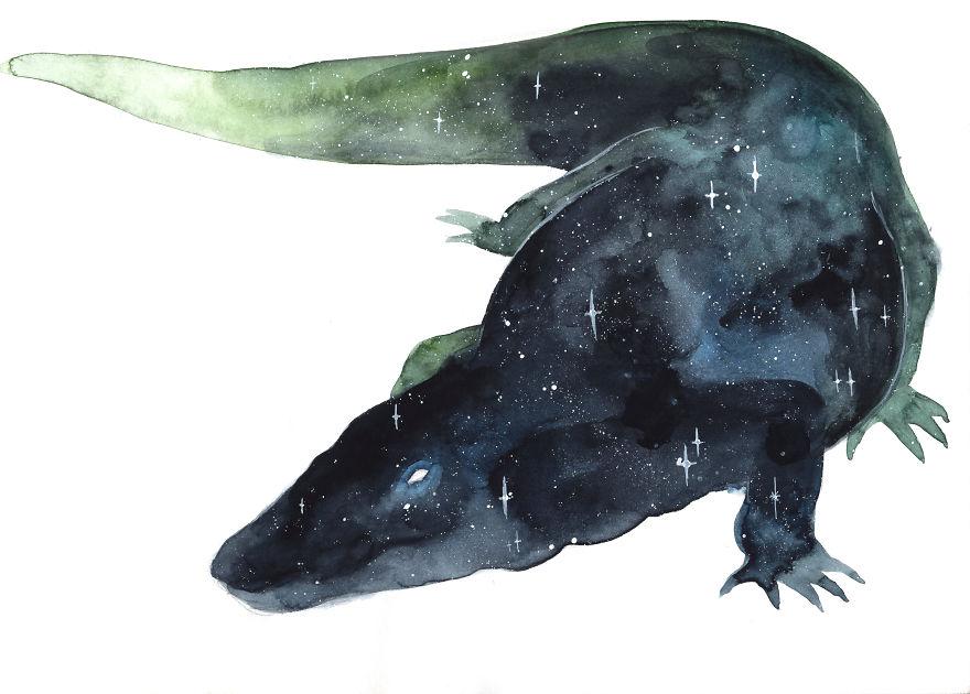 Galaxy Crocodile
