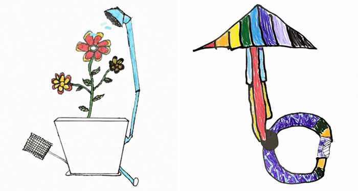 Drawings By Little Inventors Expressing The Most Precious Element In Our Life – Imagination