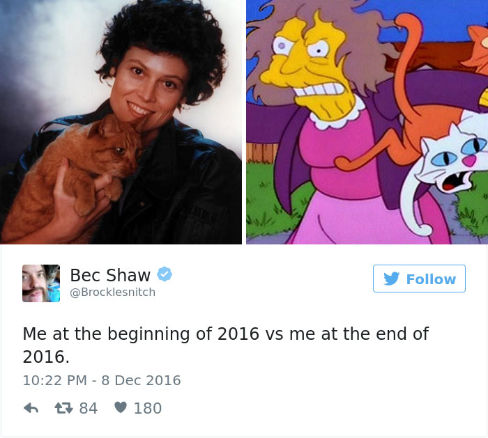 Me At The Beginning Of 2016 Vs Me At The End Of 2016