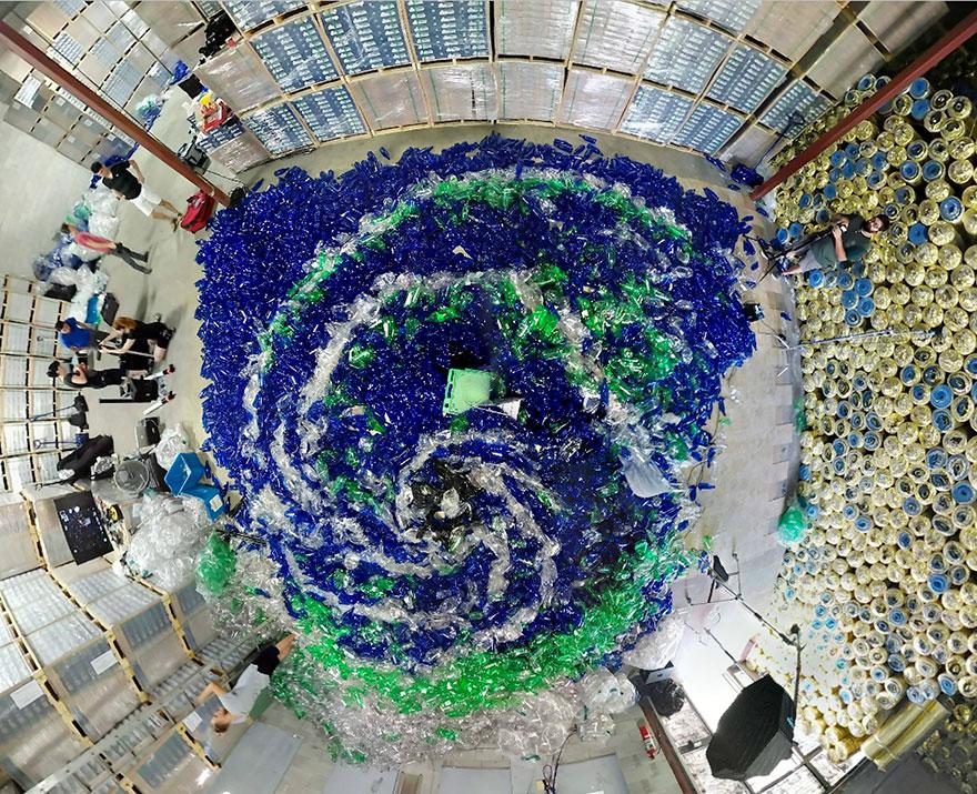 morské panny-nenávidieť-plast-znečistenie-benjamin-von-wong-4
