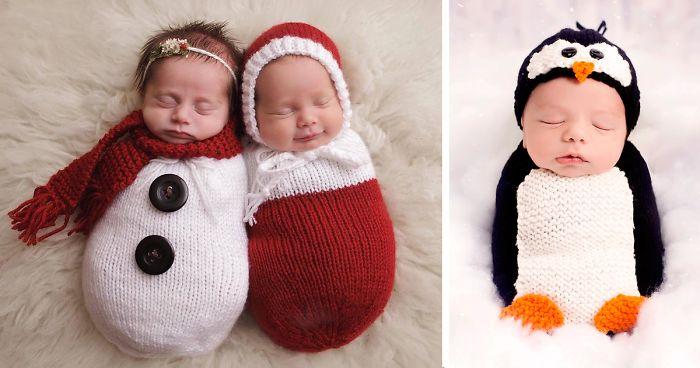 77 Babies Celebrating Their First Ever Christmas - 77 Babies Celebrating Their First Ever Christmas Bored Panda