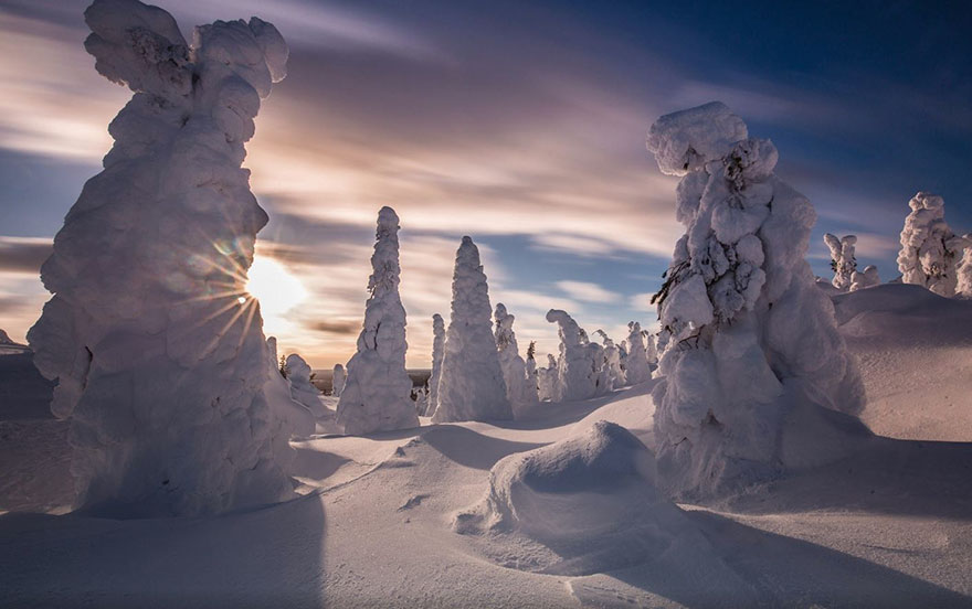 Finnish Lapland Winter Photography