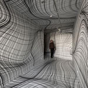Optical Illusion Rooms By Peter Kogler Will Give You Vertigo