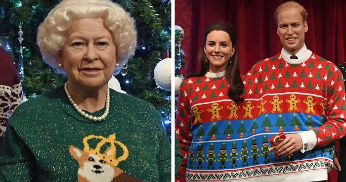 Royal Family Wearing Ugly Christmas Sweaters… Wait What? | Bored Panda