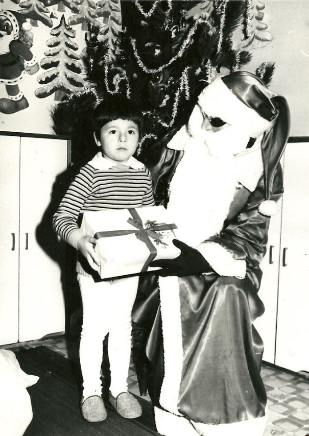 Santa With An Eye-patch