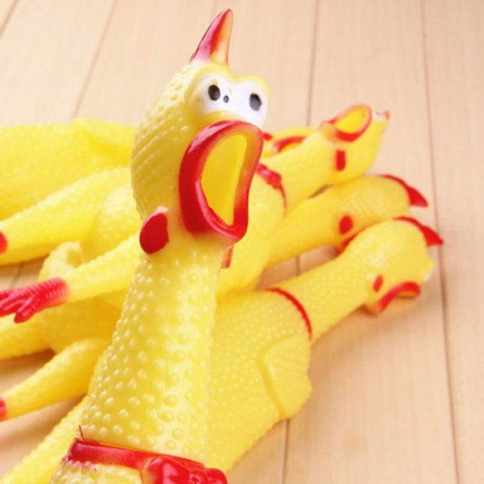 Mail Screaming Rubber Chicken