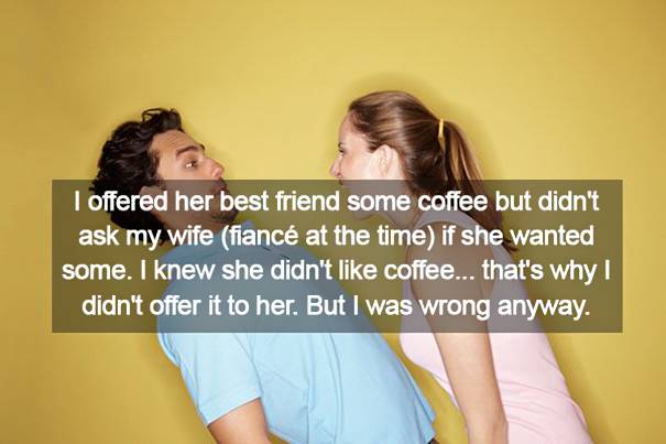 Stupid Things That Girlfriends Mad