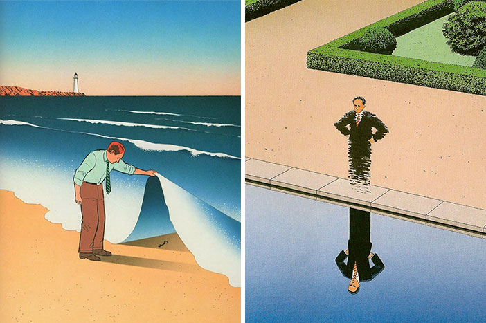 68 Mind-Twisting Surreal Illustrations By Guy Billout That Will Make You Look Twice