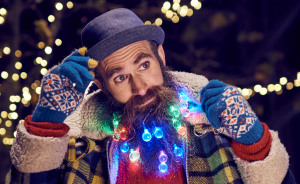 Beard Lights Will Turn Your Beard Into A Christmas Tree