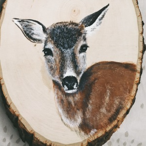Moving To A Tropical Island Made Me Miss Woodland Animals So I Started Painting Them