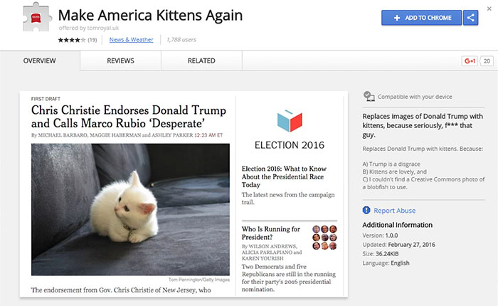 trump-chrome-extension-make-america-kittens-again-1