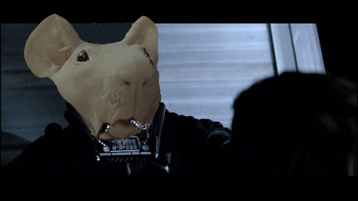 Why He Wore A Mask…