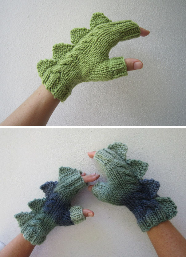 Dinosaur Gloves