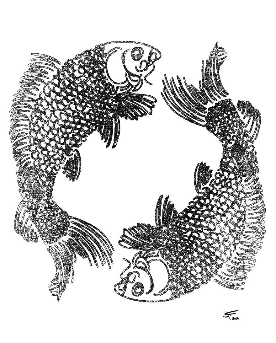 Yin-yan Piscesa