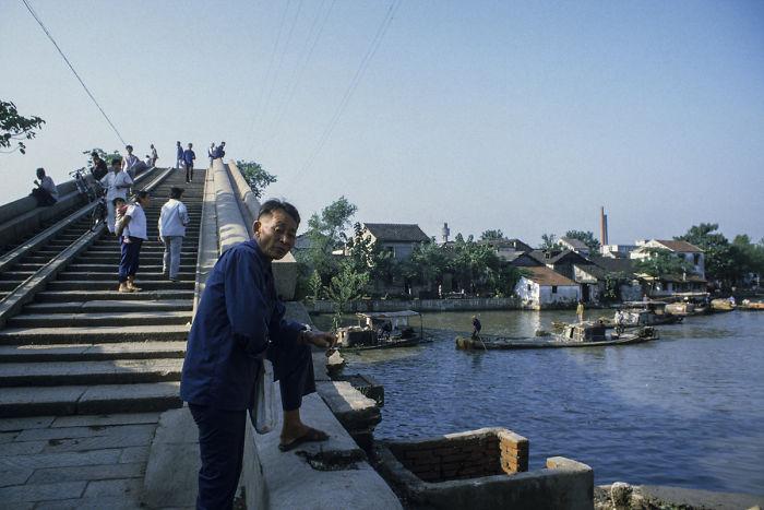 Suzhou Water Town, Suzhou, 1984