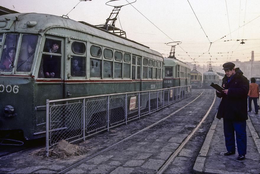 Manchuria Railway From Late Qing Dynasty, Dalian, 1985